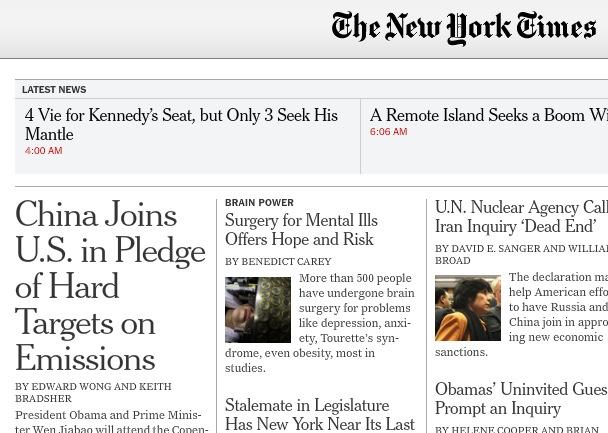 Bem Vindo ao futuro do The New York Times