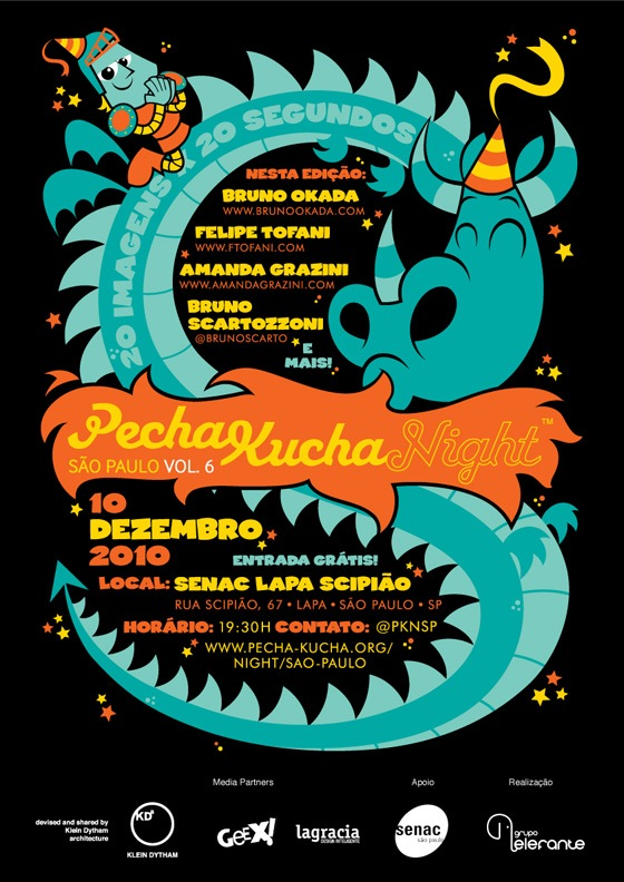 Vou participar da Pecha Kucha Night