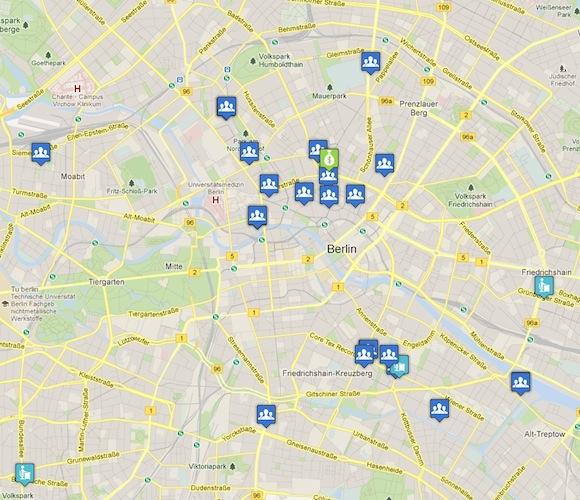 Um Mapa das Startups de Berlin