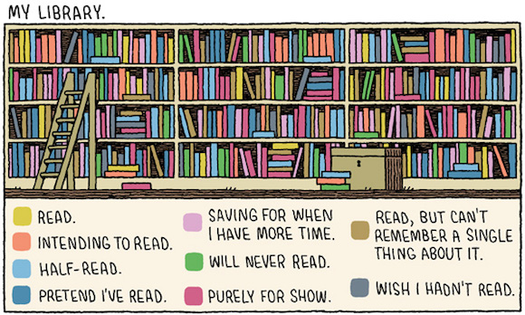 Tom Gauld: Minha Biblioteca