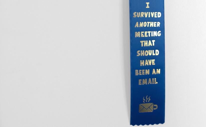 Como Sobreviver a Reuniões Inúteis