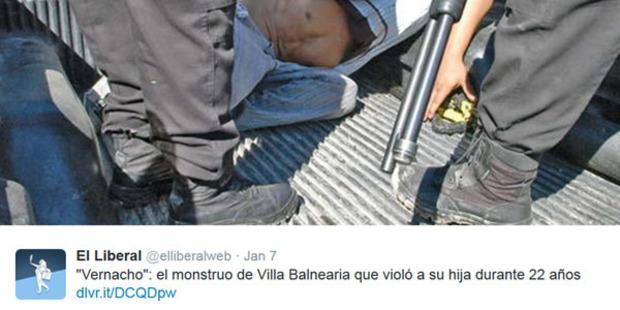 O Argentino que usou a filha de escrava sexual