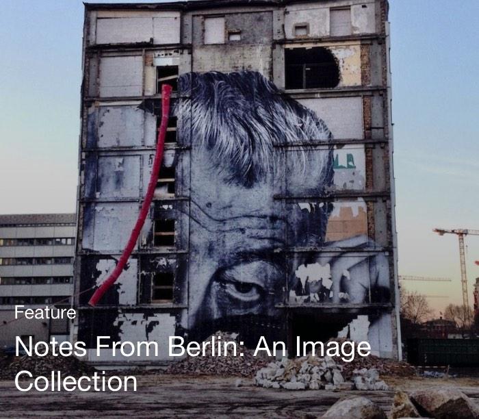 Foi assim que me deparei com um artigo chamado Notes From Berlin: An Image Collection que era ilustrado com essa foto minha. Ali foram selecionadas fotografias que mostram Berlin de um jeito um pouco diferente.