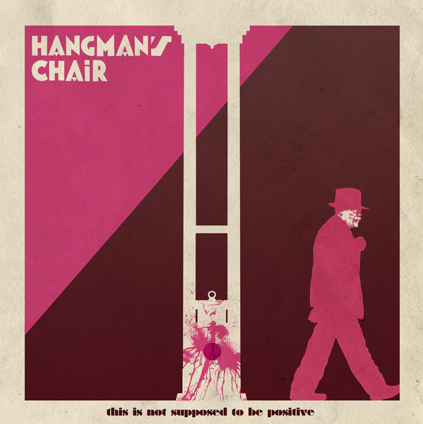 This is not supposed to be positive do Hangman's Chair pode ter surgido na capital francesa, um local famoso pelos jantares a luz de vela e pela aura de romance. Mas não é isso que você vai escutar nesse disco que considero um dos melhores de 2015. O som aqui é de uma melancolia pesada que me lembra uma estranha mistura de Alice in Chains e Life of Agony e não tem como essa mistura sair ruim. Nesse quarto disco do Hangman's Chair, o som da banda evoluiu além do stoner e do doom que eles tocavam anteriormente. Isso não quer dizer que a banda perdeu na pegada pesada. Isso quer dizer que a banda encontrou um som deles e ele carrega tantas referências que não tem como achar o This is not supposed to be positive um disco ruim. O disco começa com Dripping Low que, por um breve momento, parece levar o disco para um um mais rock, quase rápido. Mas, não. This is not supposed to be positive não é um disco assim e você vai poder escutar isso muito bem na tensão que o vocal de Cédric Toufouti coloca para fora. Nessa música você consegue perceber que Hangman's Chair sabe criar atmosfera e que eles não estão tocando para fazer amigos. Em Requiem, a terceira música do disco, dá para escutar um pouco de Type O Negativa nas guitarras e quase senti falta do vocal grave deles. Ai chegamos a Your Stone que me lembrou ainda mais o Alice In Chains e fico me perguntando por que que tantas pessoas não conhecem essa banda. This is not supposed to be positive do Hangman's Chair foi uma das melhores surpresas musicais de 2015. A mistura de estilos e levadas musicais que escuto em suas músicas vai de Nirvana a Mastodon passando por Alice in Chains e Life of Agony e não tem muito onde errar nessa combinação de bandas. Se você gosta de alguma delas, arrisque o Hangman's Chair sem pensar duas vezes. Escute o This is not supposed to be positive do Hangman's Chair direto no bandcamp deles.