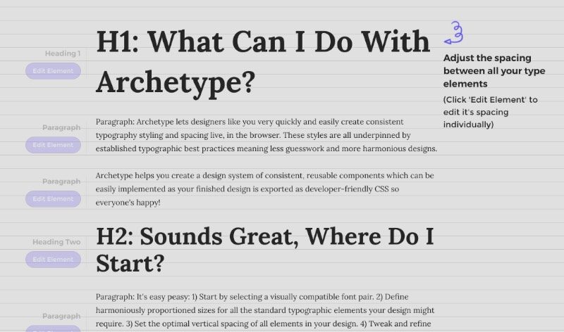 Foi pensando nisso que eu resolvi escrever um pouco sobre um site que encontrei há alguns meses e que pode ajudar muita gente com dificuldade de entender como a tipografia influencia o design de interface. O nome desse site é Archetype e lá você pode experimentar inúmeras fontes gratuitas e como que elas aparecerão no site que você está criando.