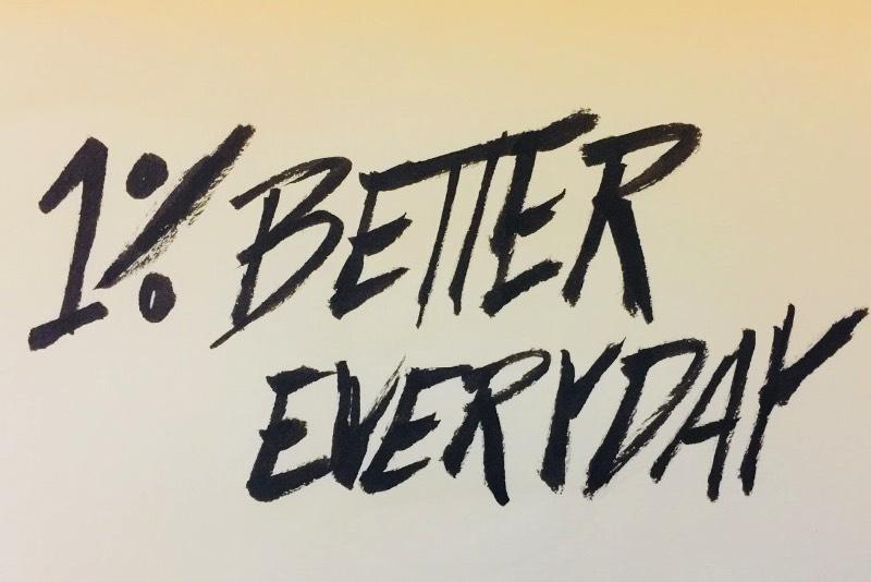 No video abaixo, chamado de 1% Better Every Day, James Clear fala sobre as pequenas mudanças que podemos fazer no nosso dia a dia e nos nossos hábitos que podem melhorar a sua vida. A ideia não é nada inovadora mas explica uma metodologia interessante que me surpreendeu de um jeito bem positivo.