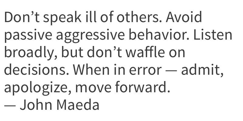 As Quatro Regras que John Maeda segue para viver melhor