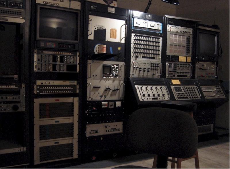 Scanimate é o nome de um sistema de animação analógica por computador que, algumas vezes, é descrita como uma espécie de sintetizador de vídeo.