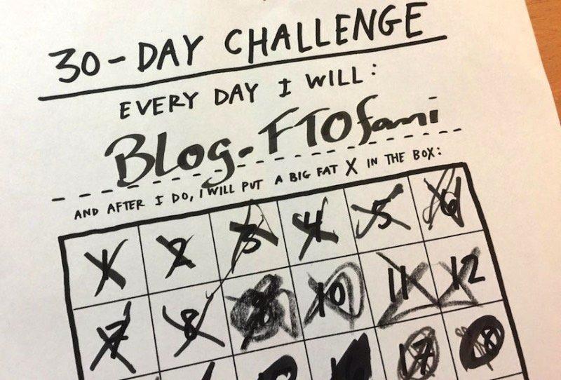 Eu gosto de tentar quebrar minha rotina criando pequenos desafios. Fiz isso uma vez quando me tornei vegetariano por um mês, outra vez eu coloquei na minha cabeça de que iria fazer, pelo menos, uma imagem usando de glitch por dia. Considero esses desafios uma espécie de exercício criativo que mudam sua perspectiva de vida e que deixam tudo um pouco mais interessante. Mês passado, me deparei com o 30-day challenge do Austin Kleon e resolvi fazer isso novamente mas de um jeito um pouco mais complicado.