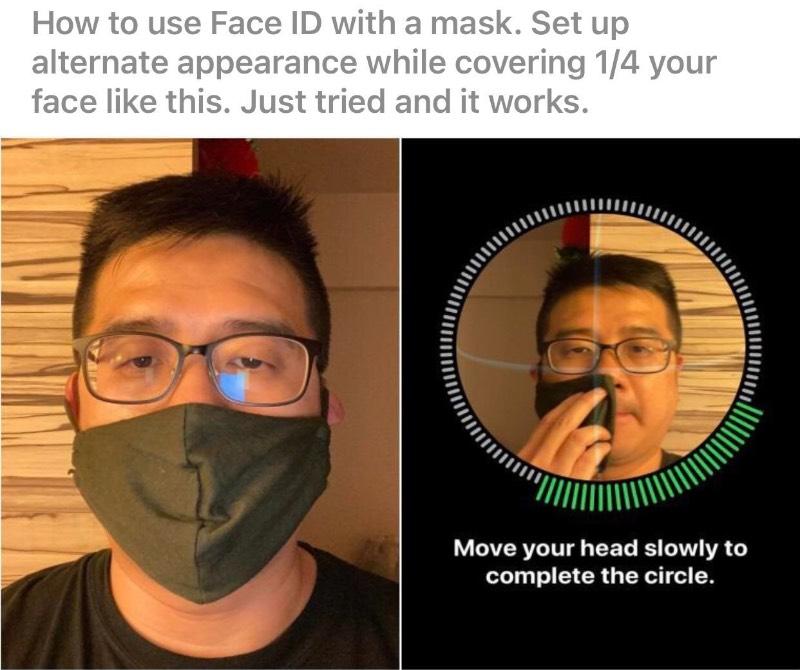 Desde que comecei a sair de casa usando uma máscara para me proteger do Coronavírus, passei a digitar o código para destravar o iPhone muito mais do que eu gostaria. Foi com um grande alívio que descobri no Reddit como usar o face ID do iPhone usando uma máscara e estou aqui para compartilhar esse sucesso.